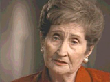 Ludmilla Page. Describes leaving Auschwitz and arriving...