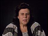 루스 메이어로비츠(Ruth Meyerowitz). 루스는 아우슈비츠 화장터에 대한 그녀의 기억에...
