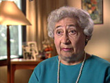 Ruth Berkowicz Segal. Describes deciding to leave Warsaw...