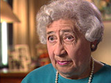 Ruth Berkowicz Segal. Describes journey to and arrival...