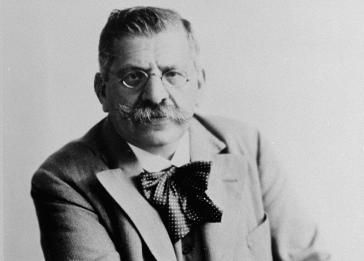 Dr. Magnus Hirschfeld, a Jew and homosexual, founded the Institute for Sexual Sciences. Berlin, Germany, 1928.