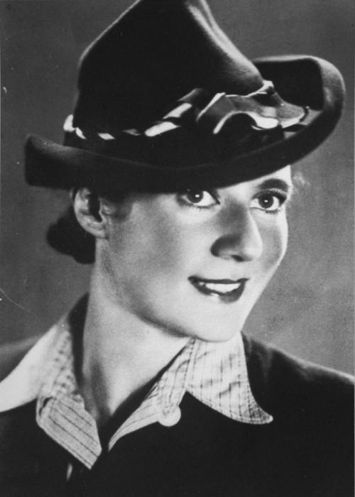 Prewar portrait of Ella Gärtner, participant in the Auschwitz-Birkenau revolt of October 1944.