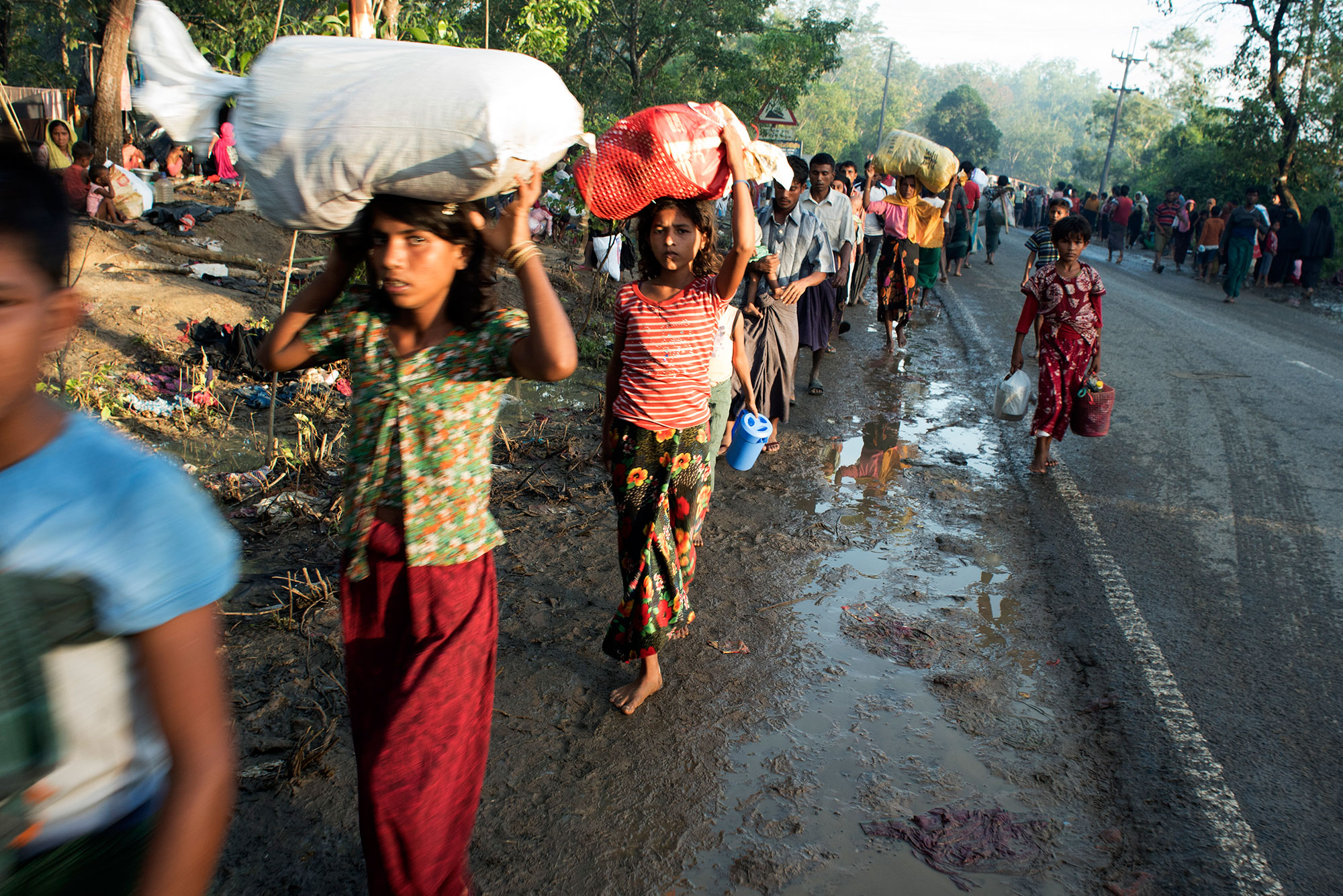 Hundreds of thousand Rohingya have fled persecution and violence in Burma
