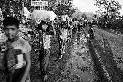 Burma's Rohingya population has suffered mass atrocities—including crimes against humanity and ethnic cleansing—and in December 2018 the Museum determined there was compelling evidence that genocide had been committed against the Rohingya.
