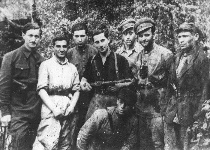 Partisans in forest