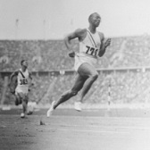 Jesse Owens Competes in Olympic Games