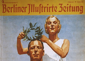 "Cover of the special Olympic edition of the ""Berliner Illustrierte Zeitung."""