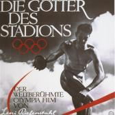 The poster for Leni Riefenstahl's film, Die Götter des Stadions.