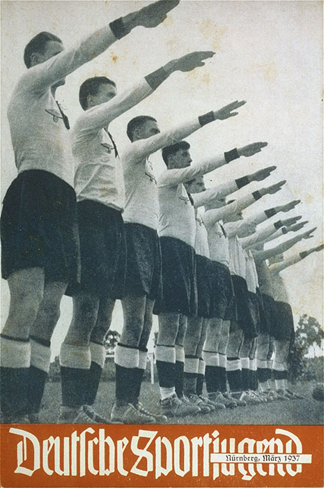 "The cover of a Hitler Youth publication entitled ""German Sports Youth."""