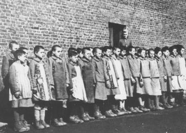 Some children ultimately rejected for Germanization were interned in the Dzieyzazn children's camp, where the mortality rate was very high.