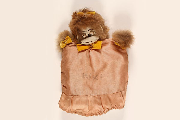 "A Surprising Discovery: ""Kiki"" the Monkey Puppet"