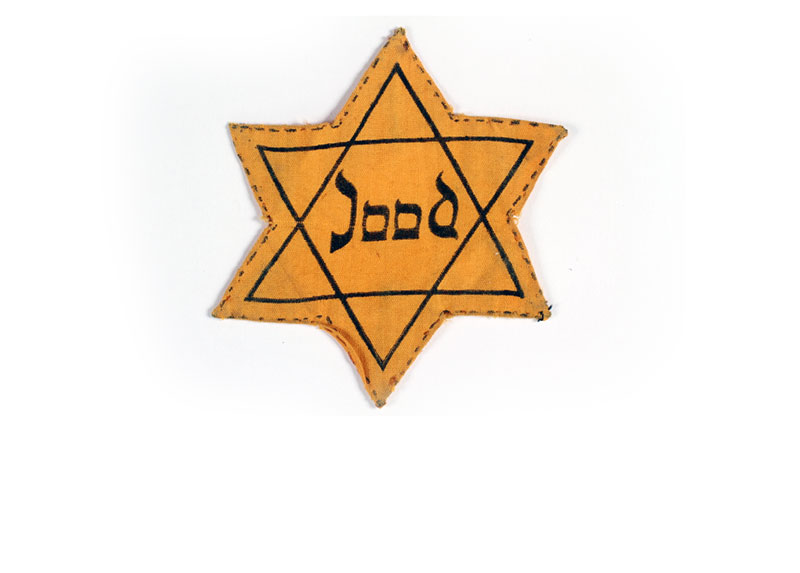 A Star of David patch