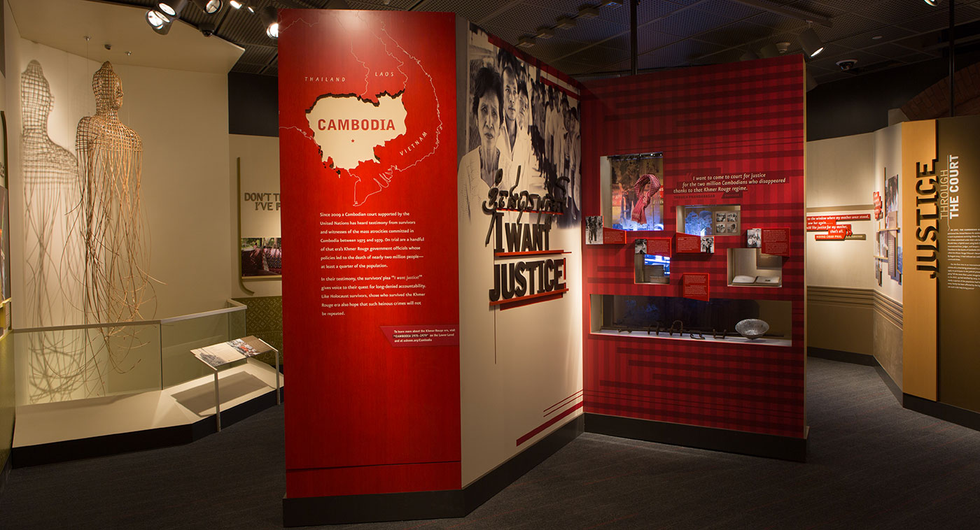 """I Want Justice!"" exhibition at the US Holocaust Memorial Museum"