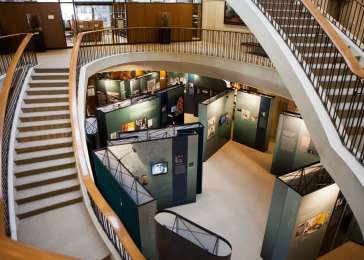 Exhibition installed at the Francis A. Countway Library of Medicine in Boston, Massachusetts.