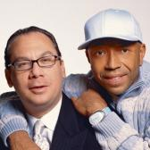 Rabbi Marc Schneier and Russell Simmons