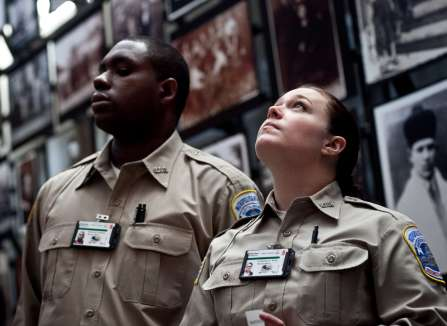 the law enforcement profession Overview of the law enforcement and protection sector, including information on sector size, jobs and salaries, working conditions, routes and qualifications, funding.