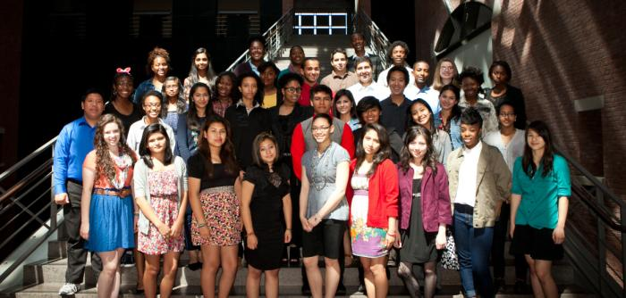 2012 Summer Youth Leadership ambassadors