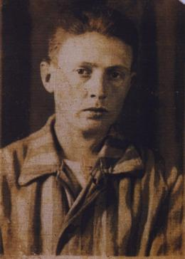 Joseph Moses Lang, a few months after liberation. November 1945.