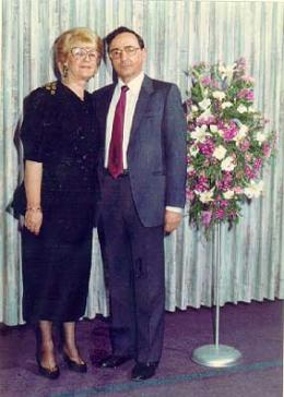 Jacob and Miriam Eshel, ca. 2000.
