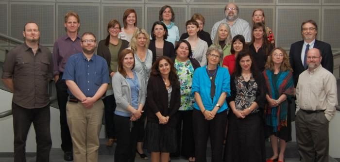 Participants at the 2012 Silberman Seminar for Faculty