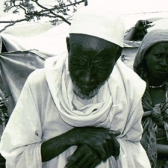 Portrait of Darfuri survivors in Touloum refugee camp, Chad.