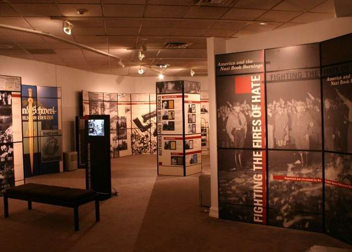 Exhibition installed at the Greensboro Historical Museum in Greensboro, North Carolina.
