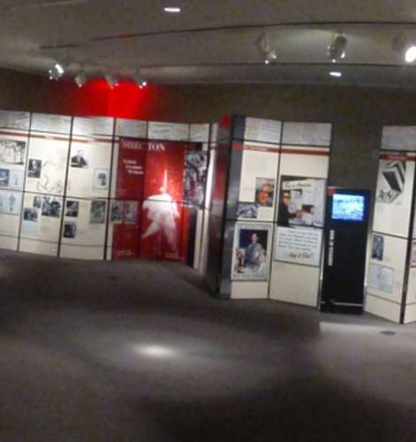Exhibition installed at The National World War II Museum in New Orleans, Louisiana.