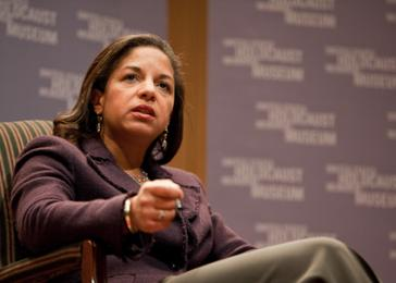 Ambassador Susan Rice discusses her work at the UN and her experiences working on issues of genocide and mass atrocities.