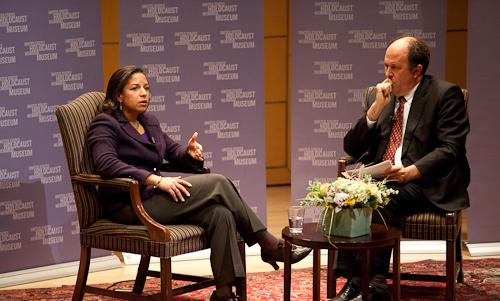 Susan Rice and Mike Abramowitz.