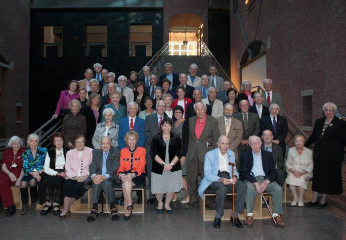 Museum Survivor Volunteers in 2012