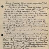 Page from Earl G. Harrison's Notebook