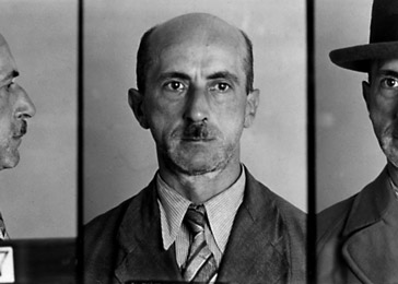 German police file photo of a man arrested in October 1937 for suspicion of violating Paragraph 175.