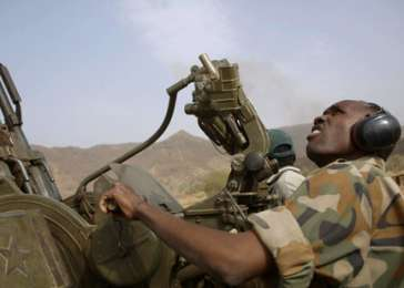 A Sudan People's Liberation Army—North fighter