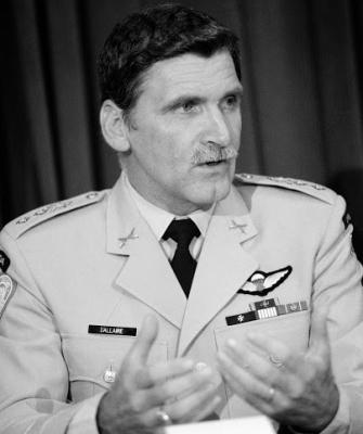 Gen. Roméo Dallaire, head of UN forces in Rwanda in 1994.