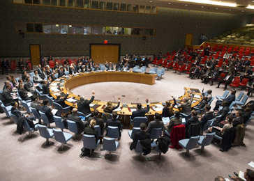The UN Security Council votes to take action in the Central African Republic.—UN Photo