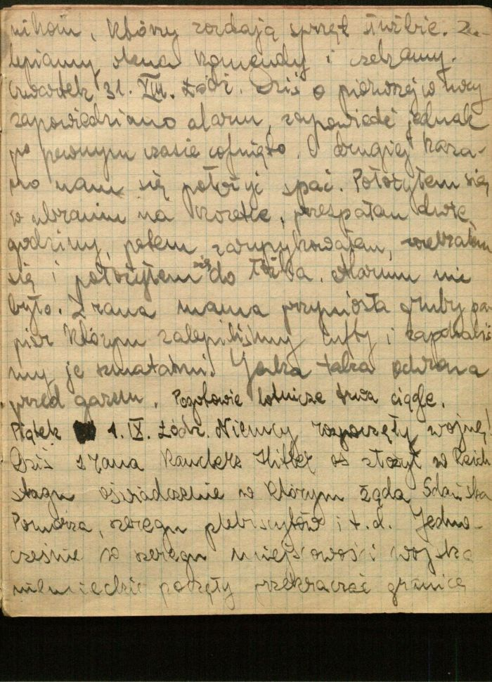 a diary of a polish jew from poland Jerusalem -- the diary of a 14-year-old jewish girl dubbed the polish anne frank was unveiled on monday, chronicling the horrors she witnessed in a jewish ghetto _ at one point watching a.