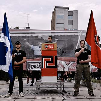 Golden Dawn rally in Greece
