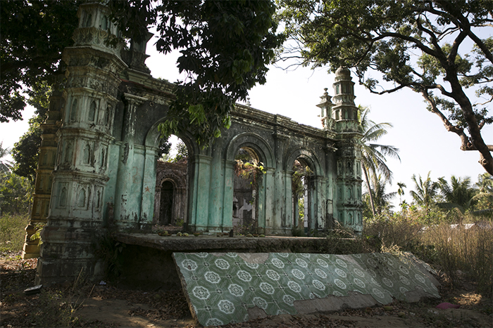The remains of a mosque in Sittwe, the capital of Rakhine State, testify to the violence that swept through the town in 2012. No independent or credible investigations into the attacks have taken place.