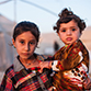 Two young sisters in Iraq