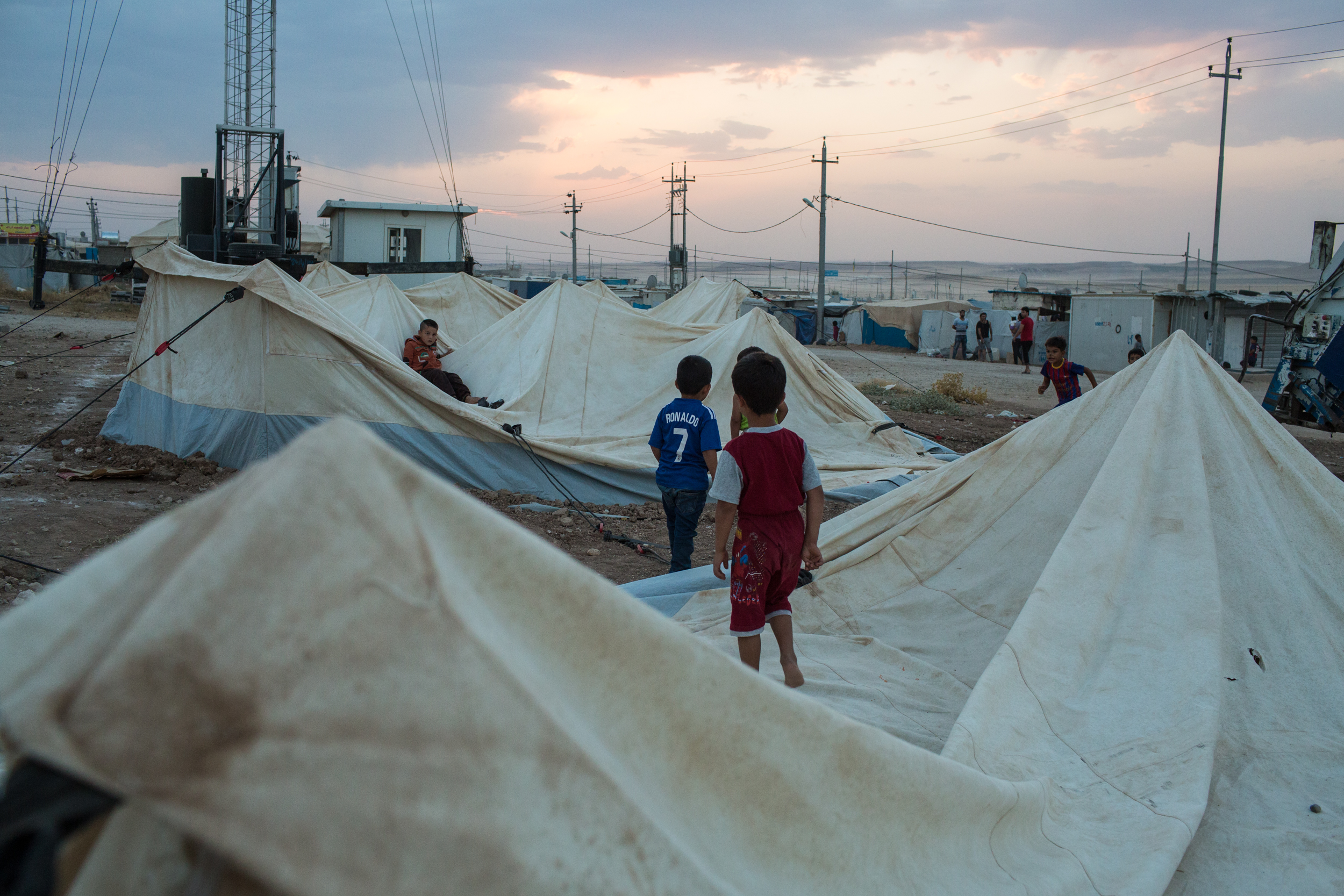 More than 11 million Syrians have been displaced by the violence in their homeland