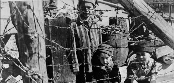 Child survivors in Buchenwald