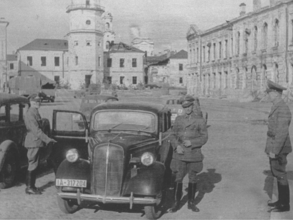 The ERR arrives in Mogilev and gets to work, July 30, 1943.