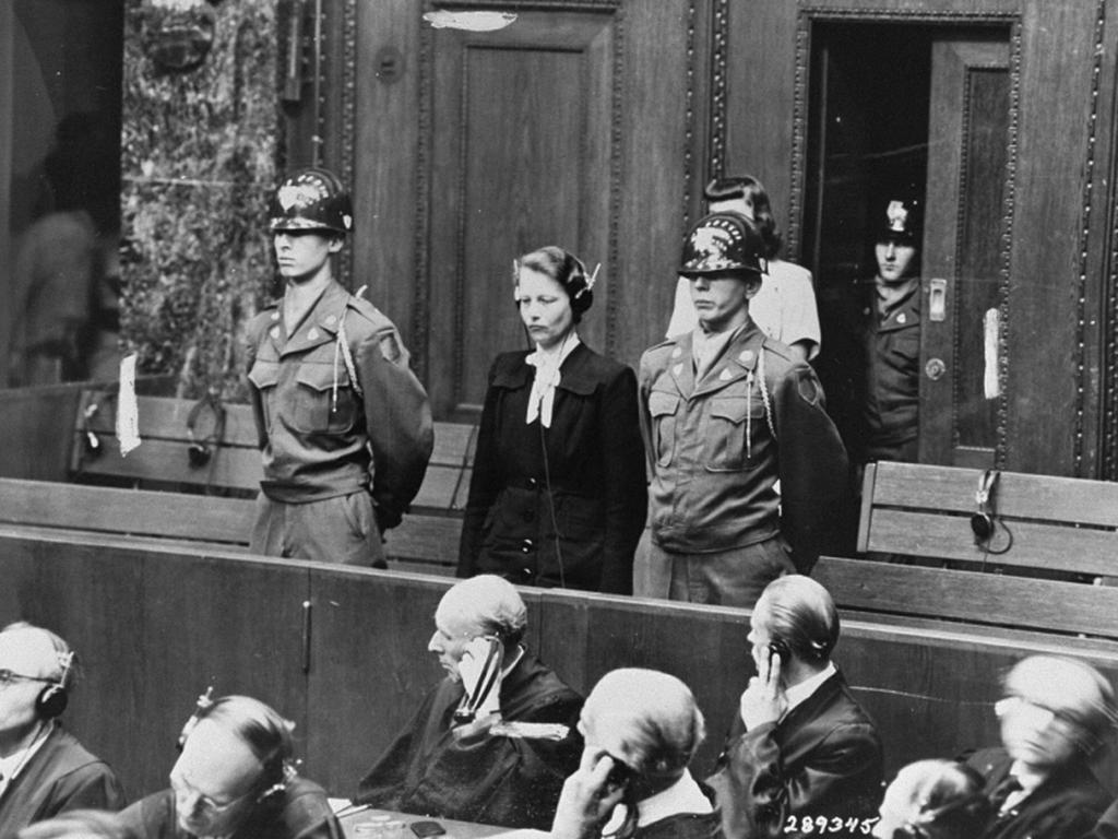 online exhibition united states holocaust memorial museum herta oberheuser physician on trial for having conducted medical experiments on concentration camp prisoners