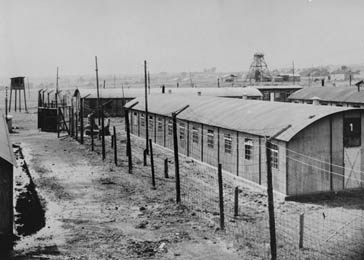 View of the Trzebinia subcamp of Auschwitz, taken after January 17, 1945.