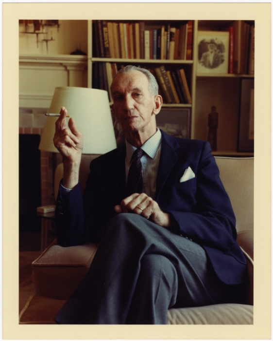 Portrait of Jan Karski in Bethesda, Maryland, ca 1988.