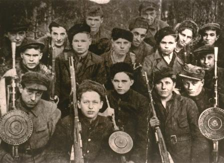 Lenin battalion in the Lipiczany forest