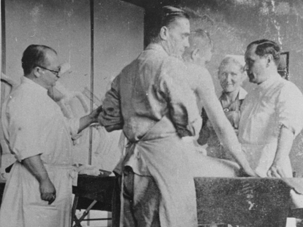 online exhibition united states holocaust memorial museum nazi physician carl clauberg at left who performed medical experiments on prisoners in