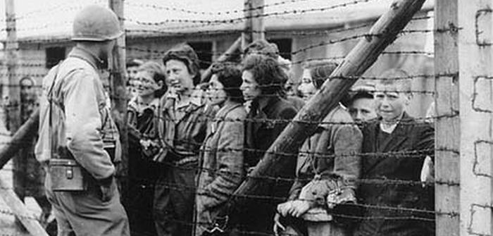 Image result for photo of allied liberation of auschwitz