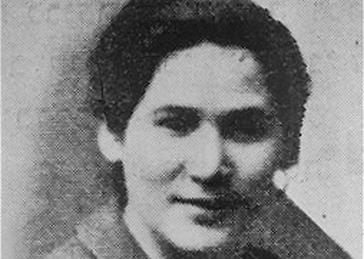 Róza Robota, participant in the Auschwitz-Birkenau revolt of October 1944.