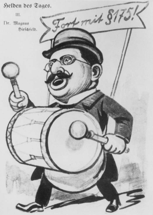 Magnus Hirschfeld Cartoon